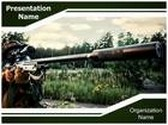 Sniper PowerPoint Template, TheTemplateWizard