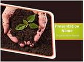 Soil PowerPoint Template background with 6 PPT slides