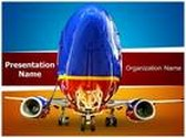 Southwest Airlines PowerPoint Template, TheTemplateWizard