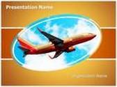 Southwest Boeing PowerPoint Template, TheTemplateWizard