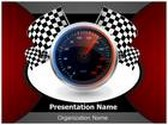 Speedometer PowerPoint Template, TheTemplateWizard