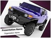 Sport Utility Vehicle PowerPoint Template, TheTemplateWizard