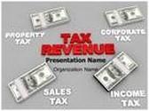 Tax Revenue Animated PowerPoint Template, TheTemplateWizard