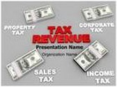 Tax Revenue PowerPoint Template, TheTemplateWizard