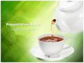 Tea PowerPoint Template, TheTemplateWizard