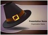 Thanksgiving Pilgrim Hat PowerPoint Template, TheTemplateWizard