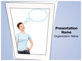 Thought Bubble PowerPoint Template, TheTemplateWizard