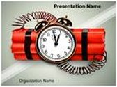 Time Bomb PowerPoint Template, TheTemplateWizard
