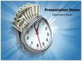 Time Is Money PowerPoint Template, TheTemplateWizard