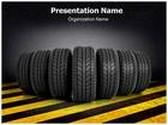 Tire PowerPoint Template, TheTemplateWizard