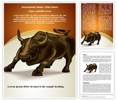 Trading Stock Market Word Template, TheTemplateWizard