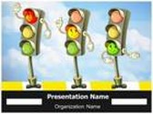 Traffic Signs Traffic Rules PowerPoint Template, TheTemplateWizard