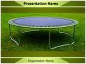 Trampoline PowerPoint Template, TheTemplateWizard
