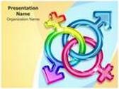 Trans Gender PowerPoint Template, TheTemplateWizard