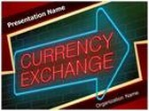 Traveling Currency Exchange PowerPoint Template, TheTemplateWizard