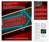 Traveling Currency Exchange Word Template, TheTemplateWizard