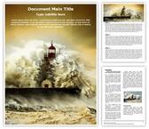 Tsunami Word Template, TheTemplateWizard