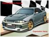 Turbo Sports Car PowerPoint Template, TheTemplateWizard