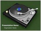 Turntable Animated PowerPoint Template, TheTemplateWizard