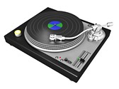Turntable Clipart Image, TheTemplateWizard