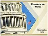 Us Capitol Building PowerPoint Template, TheTemplateWizard