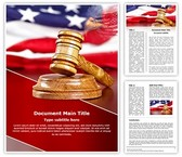 Usa Law Word Template, TheTemplateWizard