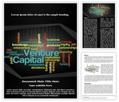 Venture Capital Word Template, TheTemplateWizard