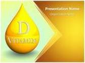 Vitamin D PowerPoint Template, TheTemplateWizard