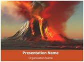 Volcano Free PowerPoint Template, TheTemplateWizard