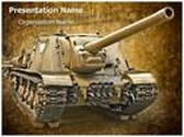 War Tank PowerPoint Template, TheTemplateWizard
