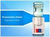 Water Cooler PowerPoint Template, TheTemplateWizard