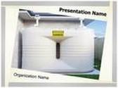 Water Tanks PowerPoint Template, TheTemplateWizard