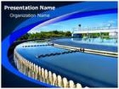 Water Treatment Plant PowerPoint Template, TheTemplateWizard