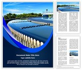 Water Treatment Plant Word Template, TheTemplateWizard