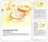 Wedding Rings Free Word Template, TheTemplateWizard