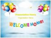 Welcome Home PowerPoint Template, TheTemplateWizard