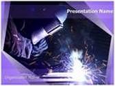 Welding Electrodes PowerPoint Template, TheTemplateWizard