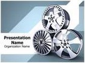 Wheel Alloy PowerPoint Template, TheTemplateWizard