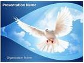 White Dove PowerPoint Template, TheTemplateWizard
