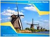 Windmill PowerPoint Template, TheTemplateWizard
