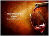Wine PowerPoint Template, TheTemplateWizard