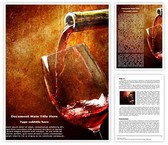 Wine Word Template, TheTemplateWizard