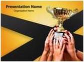 Winning Team PowerPoint Template, TheTemplateWizard