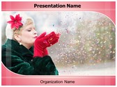 Winter Celebrations PowerPoint Template, TheTemplateWizard