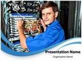 Wiring PowerPoint Template, TheTemplateWizard