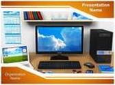 Workplace PowerPoint Template, TheTemplateWizard