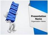 Workplace Work Load PowerPoint Template, TheTemplateWizard
