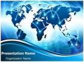 World Information PowerPoint Template, TheTemplateWizard
