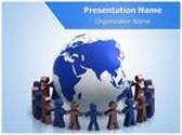 World Partnership PowerPoint Template, TheTemplateWizard