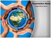 World Peace PowerPoint Template, TheTemplateWizard